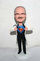 Super Doctor custom bobblehead