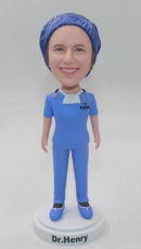 Custom Bobbleheads with Operating scrub hat