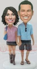 hand in hand bobbleheads