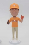 Custom Bobbleheads texas longhorns baseball fan